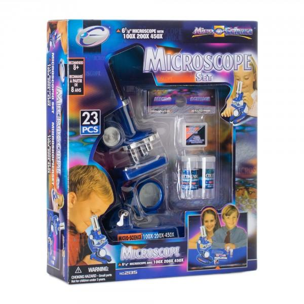 Микроскоп детский Eastcolight 100-450 23 предмета (MP-450)