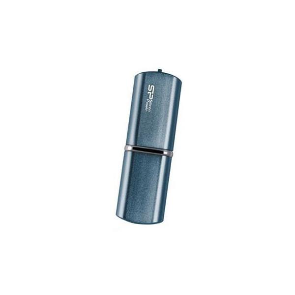 flash накопитель Silicon Power Luxmini 32GB (80X) 720 темно-синий