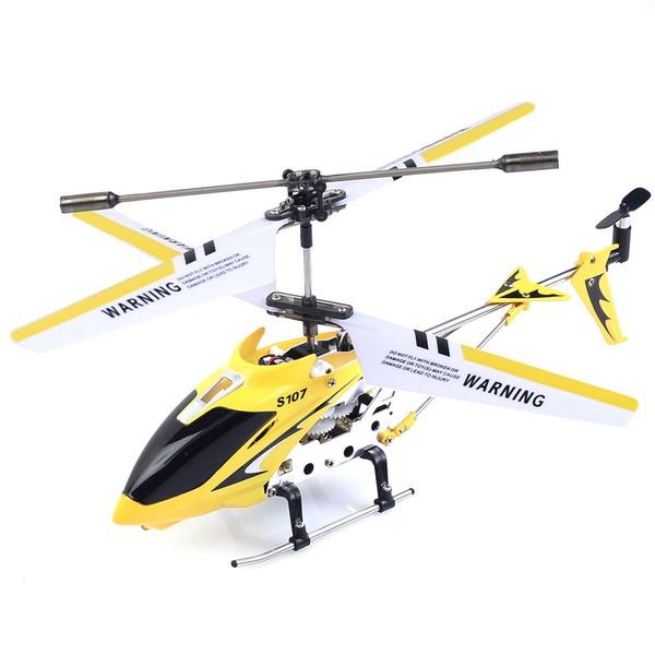 Радиоуправляемый вертолет Syma S107G, желтый