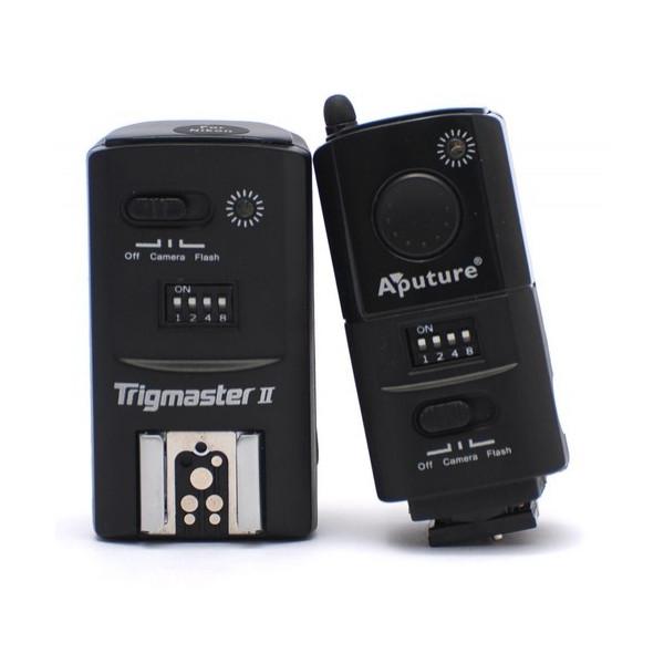 Радиосинхронизатор Aputure Trigmaster MXII-C Set 2.4G для Canon