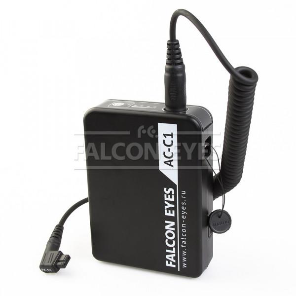 Блок питания Falcon Eyes AC-C1 для накамерных вспышек Canon