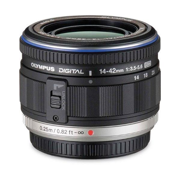 Объектив Olympus M. Zuiko Digital ED 14-42mm f/3.5-5.6 EZ черный (
