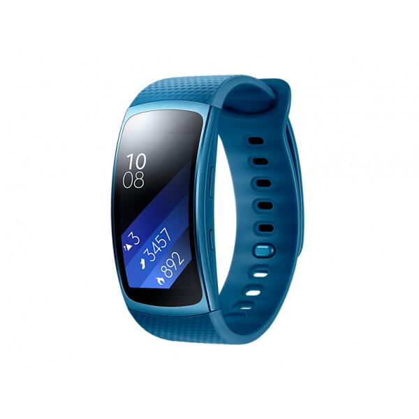 Умный браслет Samsung Gear Fit 2, синий