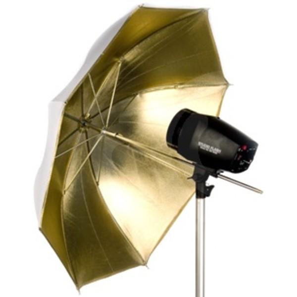 Зонт Falcon Eyes UR-48G отражающий золотой 105 см