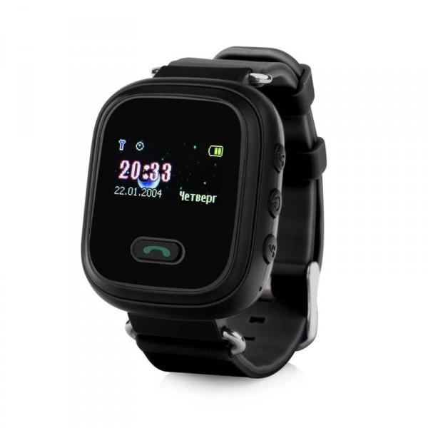 Детские умные часы Smart Baby Watch Q60, черные