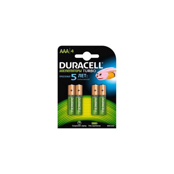 Аккумулятор Duracell HR03-4BL 850mAh предзаряженные (4/40/15000)
