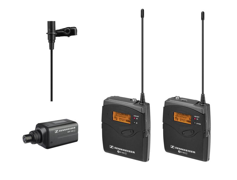 User manual sennheiser ew 100-935 g3 wireless handheld microphone.