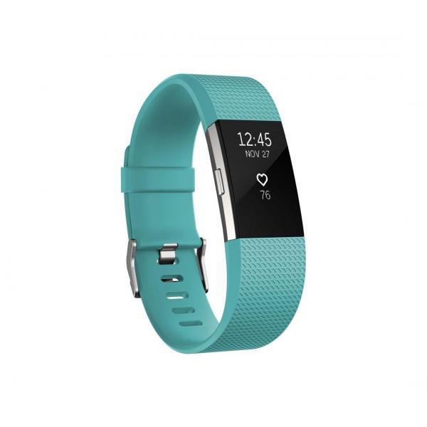 Умный браслет Fitbit Charge 2, бирюзовый (L)