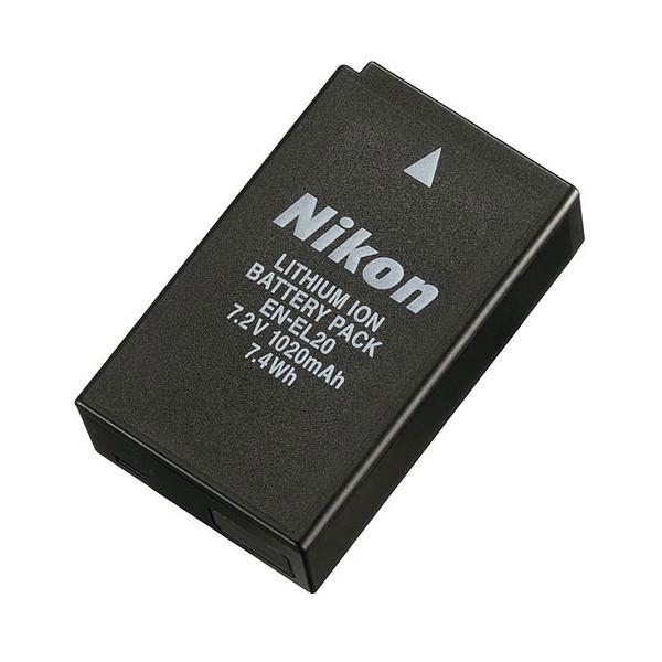 Аккумулятор Nikon EN-EL20 для Nikon 1 J1, J2