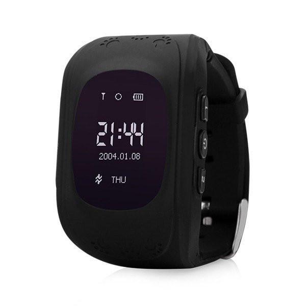 Детские умные часы Smart Baby Watch Q50, черные