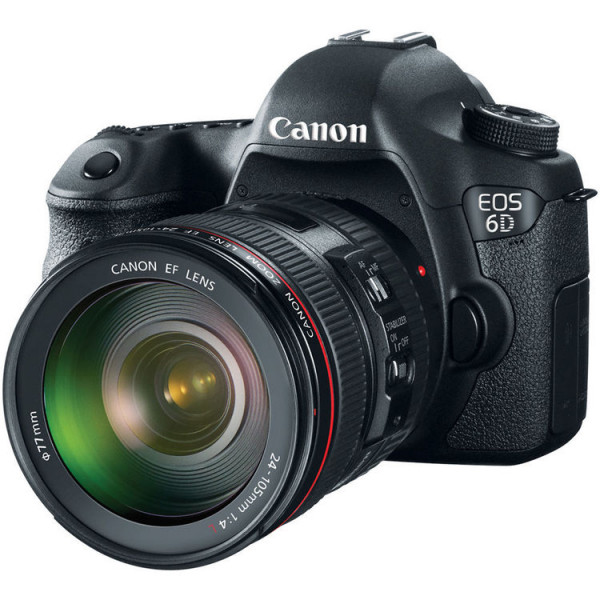 Зеркальный фотоаппарат Canon EOS 6D (WG) Kit 24-105mm f/4L IS USM (