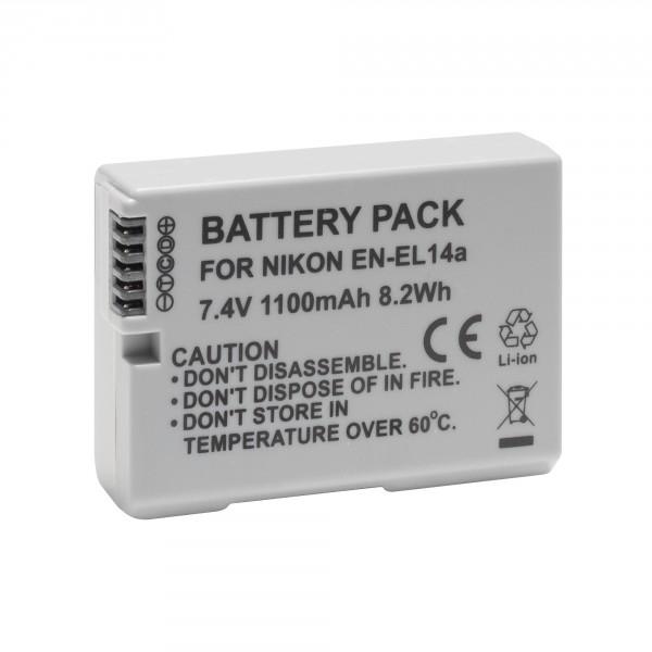Аккумулятор Prolike PR-ENEL14A 1100mAh